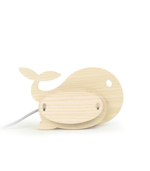 Houten lamp voor kinderen, ZOO Baleine