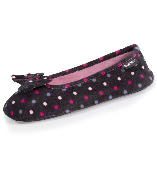 Dames ballerina pantoffels Stippen