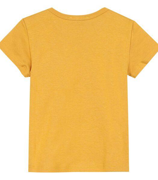 T-shirt col rond avec motif