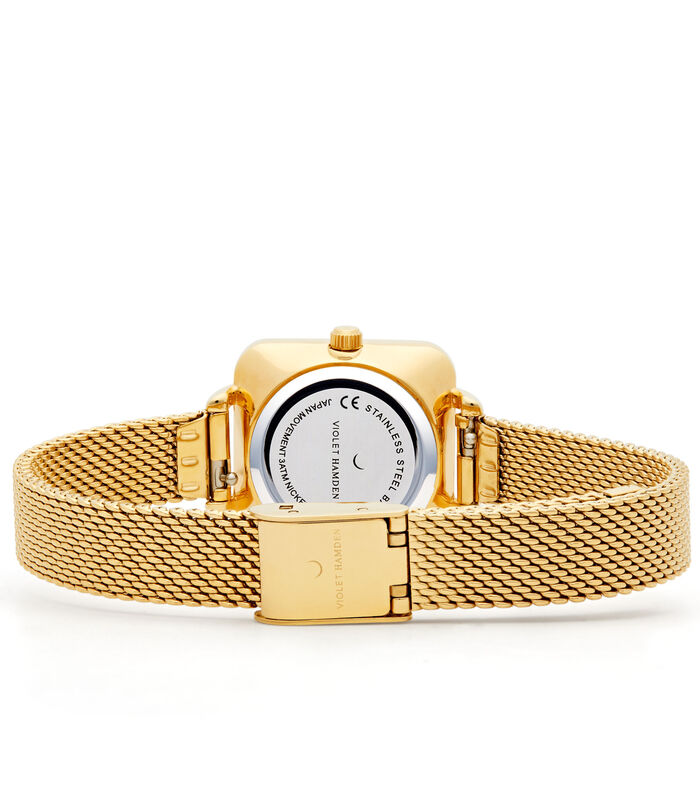 Dawn Horloge goudkleurig VH05011 image number 4