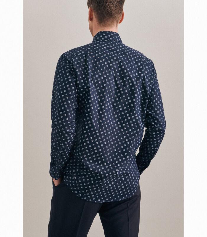 Oxfordhemd Regular Fit Extra lange mouwen Print image number 1