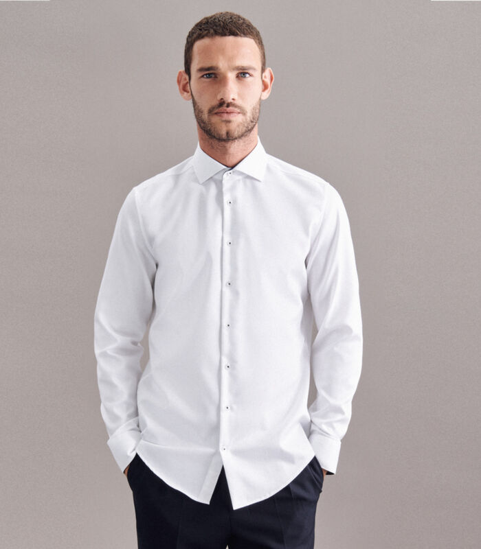 Overhemd X-Slim Fit Lange mouwen Uni image number 0