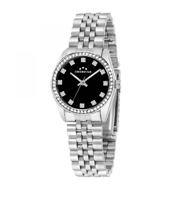 Analoog horloge legering, staal LUXURY image number 0