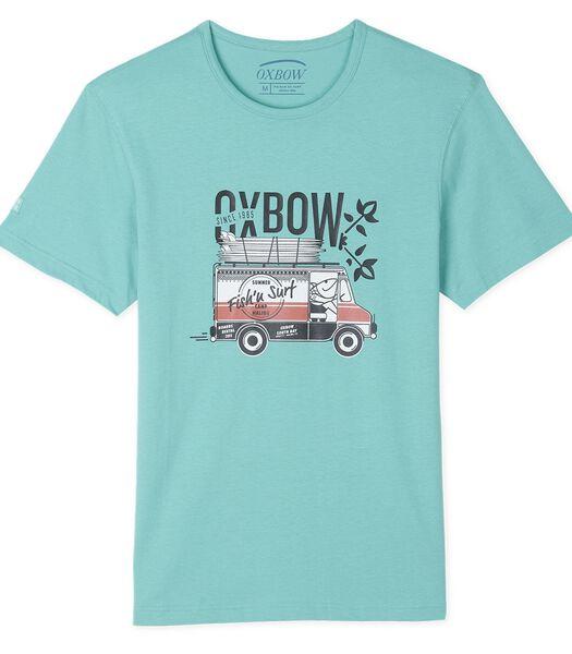T-shirt met korte mouwen TIMECA