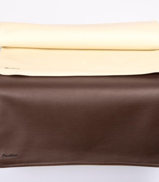 Tafelloper 45x120cm Bruin/Creme N08/N02