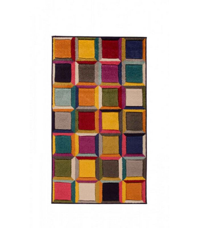 Designer en kleurrijk vloerkleed WHIRL image number 0