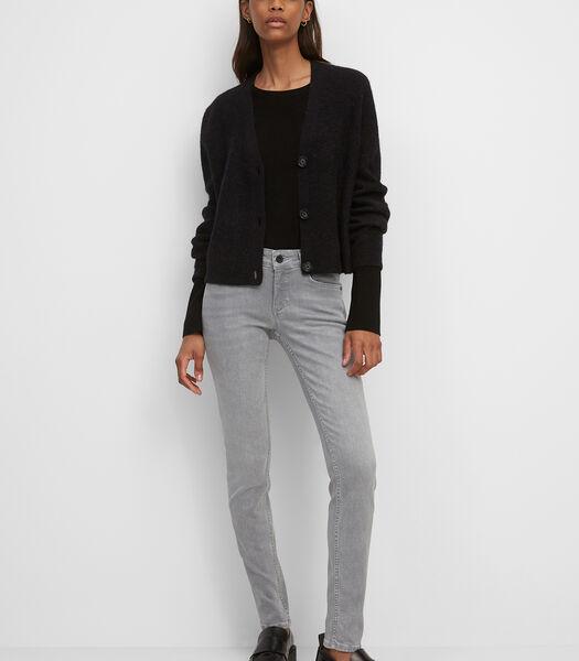Jeans model SKARA skinny met lage bandhoogte