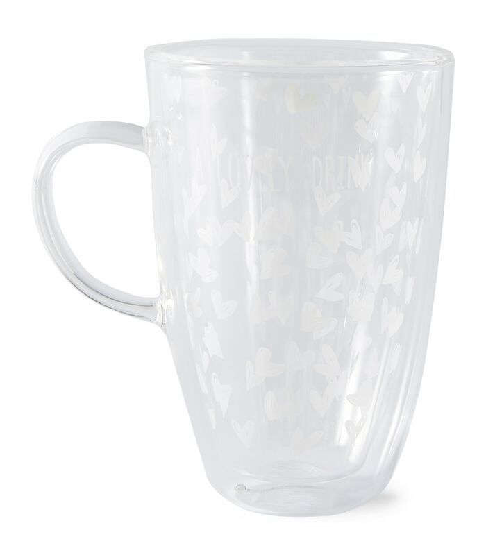 Lovely Drinks Double Wall Glass L image number 0