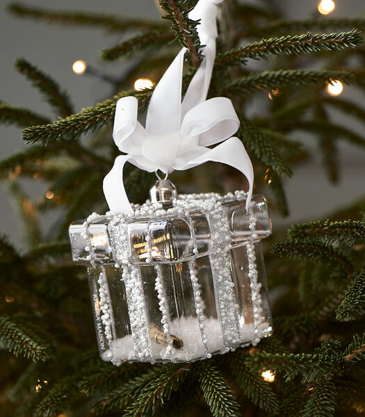 Beads Present Ornament silver