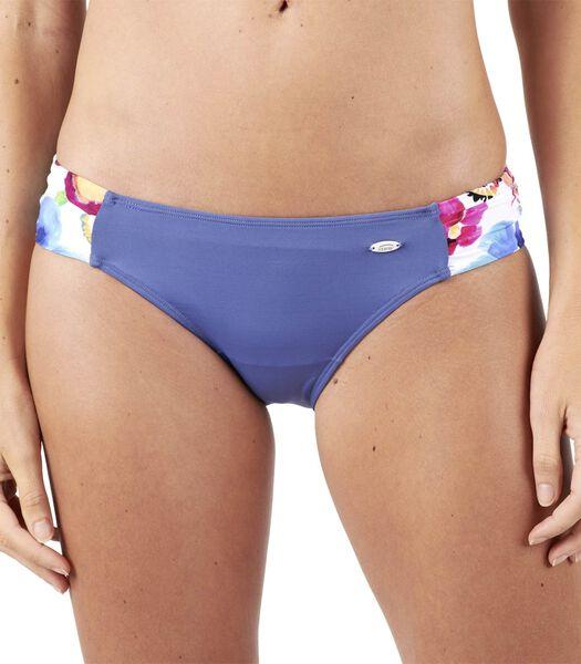 Bikinibroekje effen met print aan zijkant MEDUSA