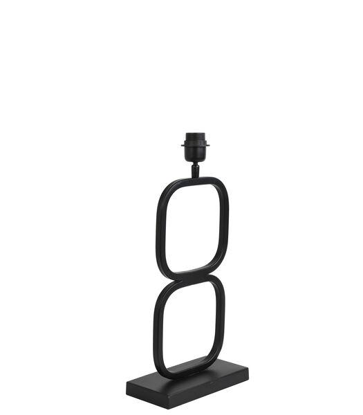 Lampvoet Lutika - Zwart - 23x11,5x46 cm