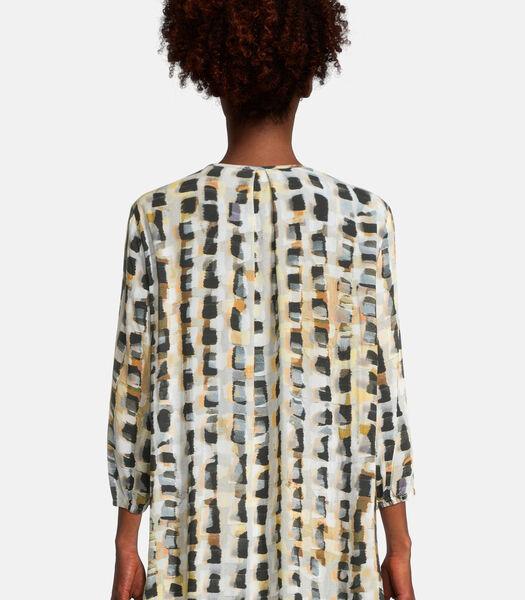 Casual blouse met motief