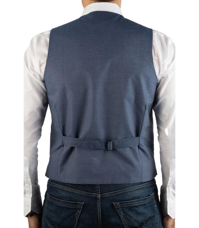Vest wol  effen patroon image number 1