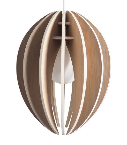 Lampe suspension design bois grand modèle, FEVE