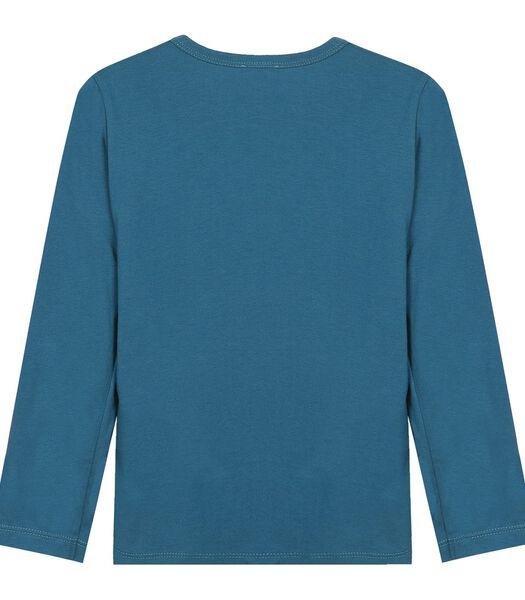 Geprinte T-shirt met lange mouwen