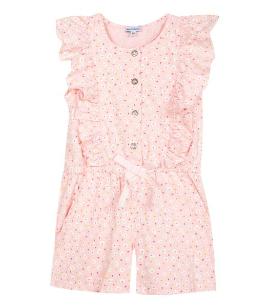 Mouwloze Printed Knit Playsuit
