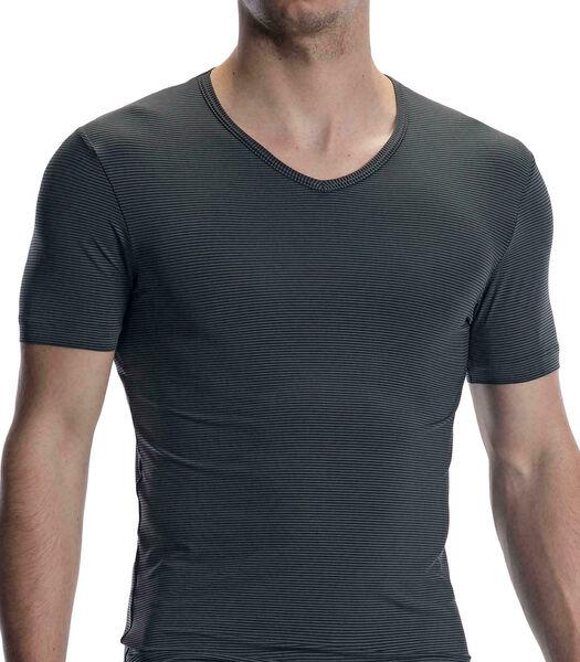 T-shirt met V-hals RED2002
