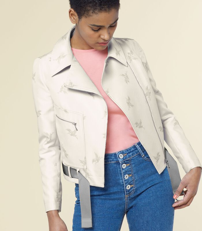 Perfecto jasje met print ESTURBAN image number 1