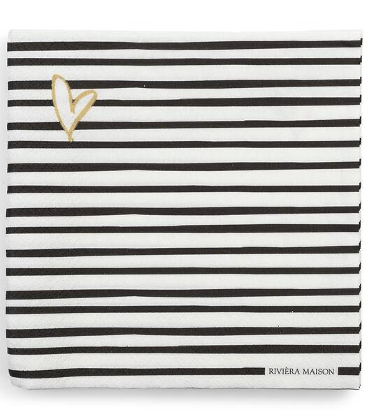 Serviette en papier RM Dots & Stripes