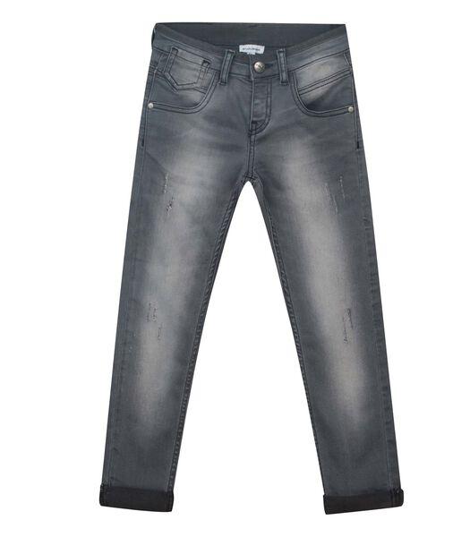 5 pocket slim jeans