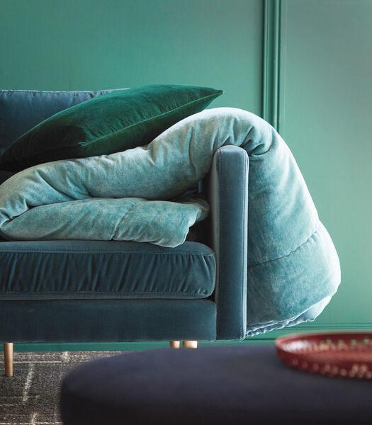 BYZANCE celadon - Sprei Fluweel