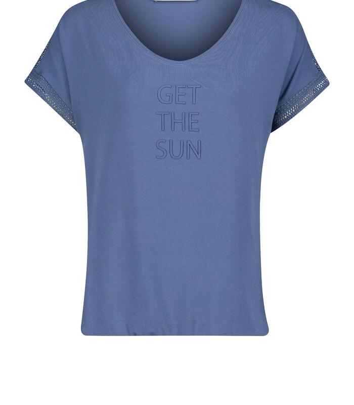 Casual shirt met print image number 2