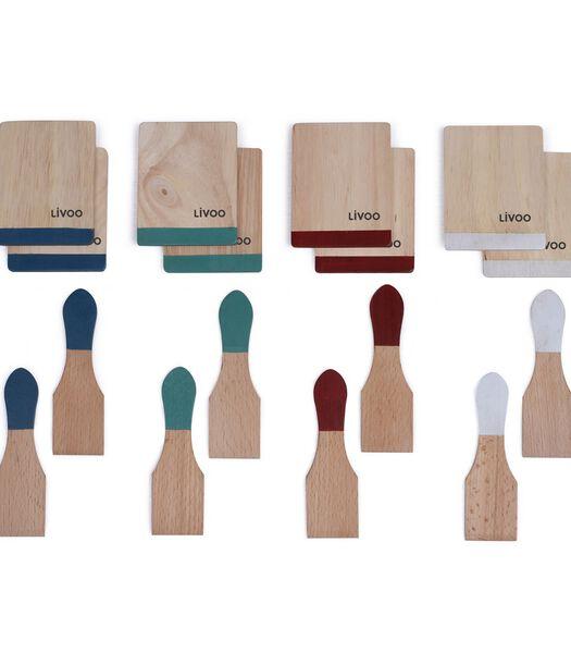 Accessoireset voor raclette