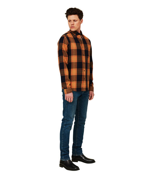 Augustus geruit overhemd