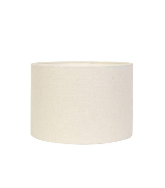 Abat-jour cylindre LIVIGNO - 40-40-30cm - blanc