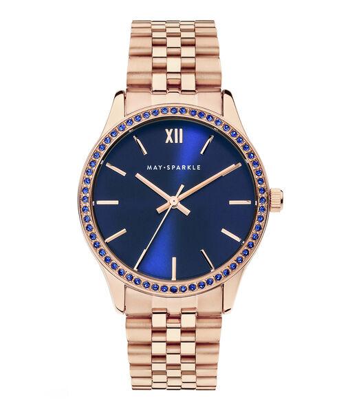 City Chique Horloge roségoudkleurig MSG003