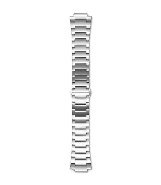Empereur 39.0 Horlogeband zilverkleurig R18M3SS3