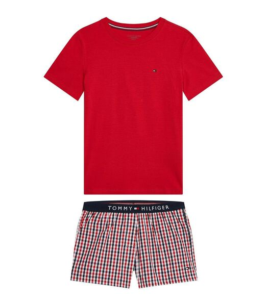 Pyjama korte broek  short set j-140-152