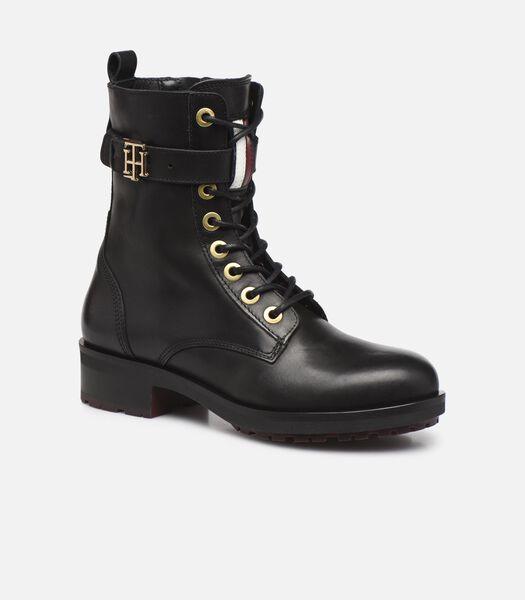 TH ESSENTIALS BIKER BOOT Boots en enkellaarsjes