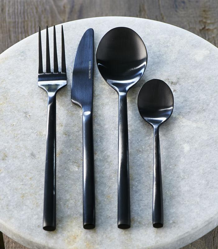 RM Loft Cutlery 4 pcs black image number 1
