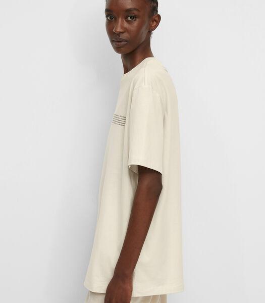 T-shirt Van perzikzachte single jersey