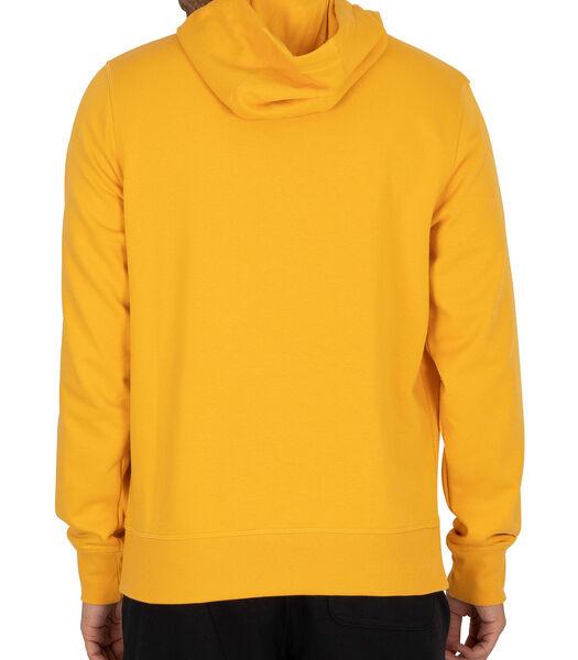 Essentials hoodie met logo