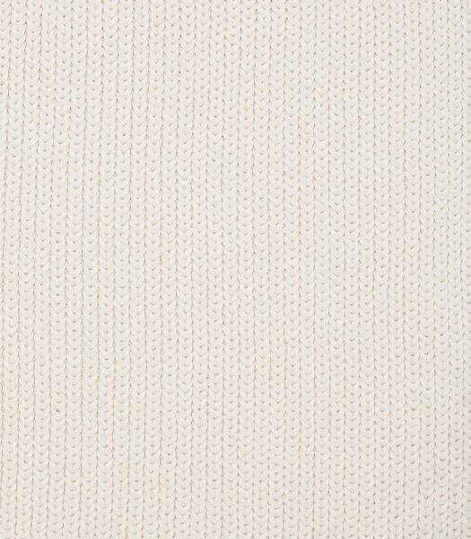 Gebreide sjaal van warm organic cotton