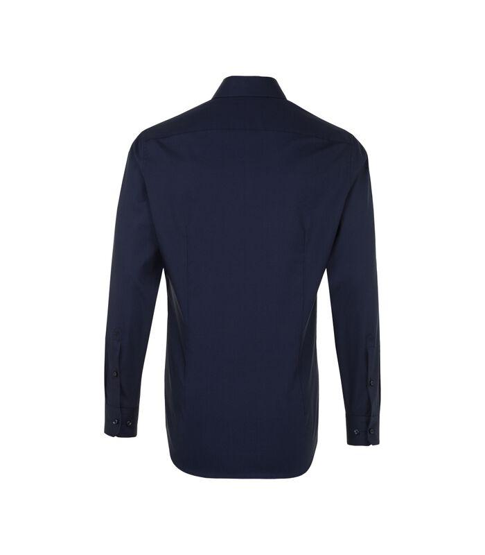 Overhemd Shaped Fit Lange mouwen Uni image number 1