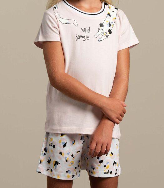 Pyjama korte broek wild jungle m-128