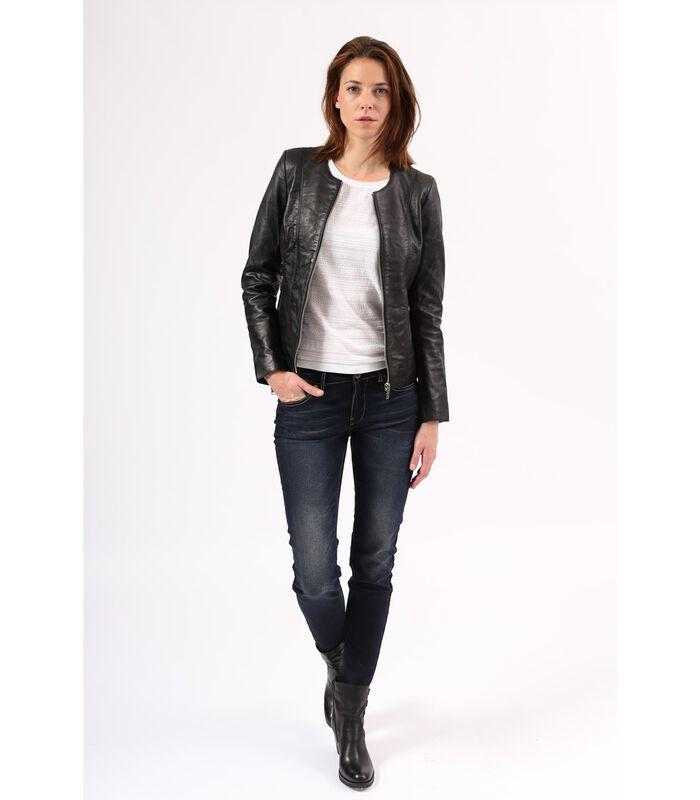 CELINE jas in schapenleer biker stijl image number 3
