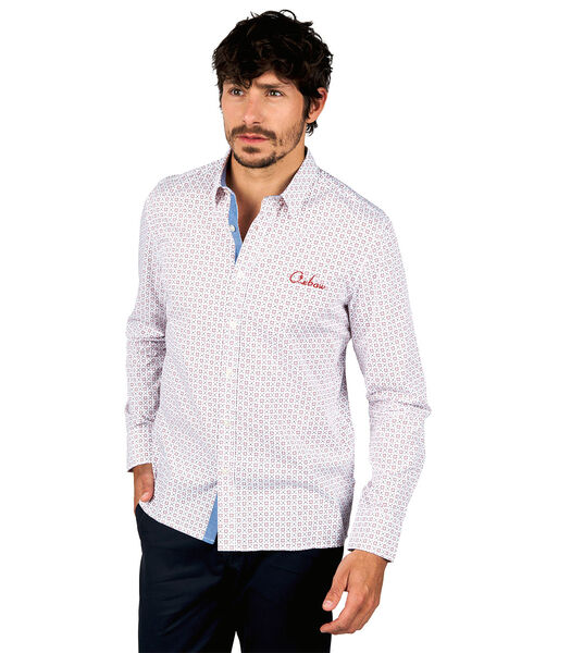 Overhemd met lange mouwen CAPRIL