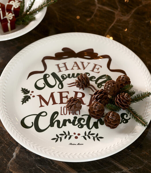 RM Classic Christmas Serving Plate