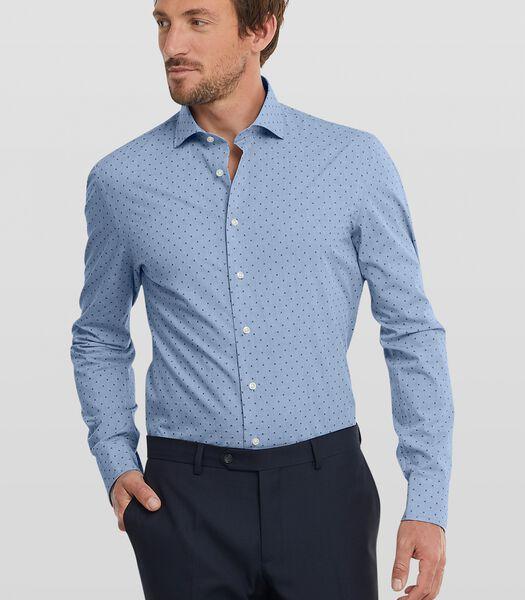 Chemise facile d'entretien avec surpiqûres