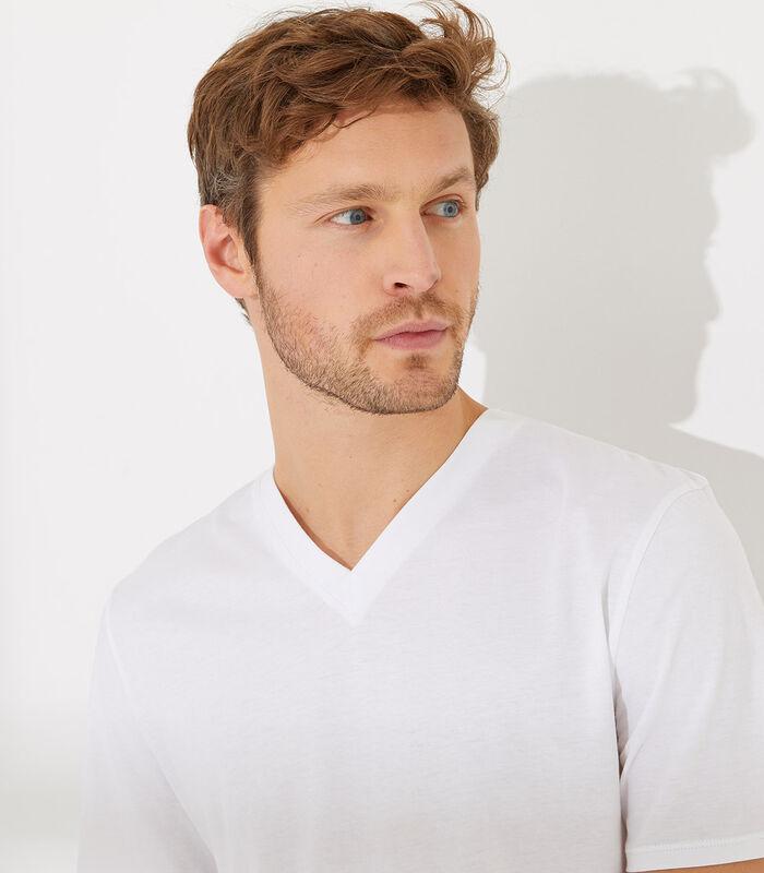 Essentiel - Homewear T-shirt met korte mouwen katoen image number 1