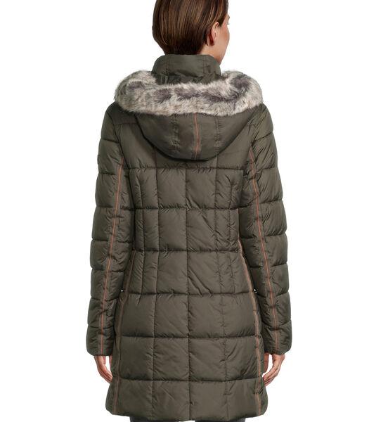 Veste outdoor à capuche amovible