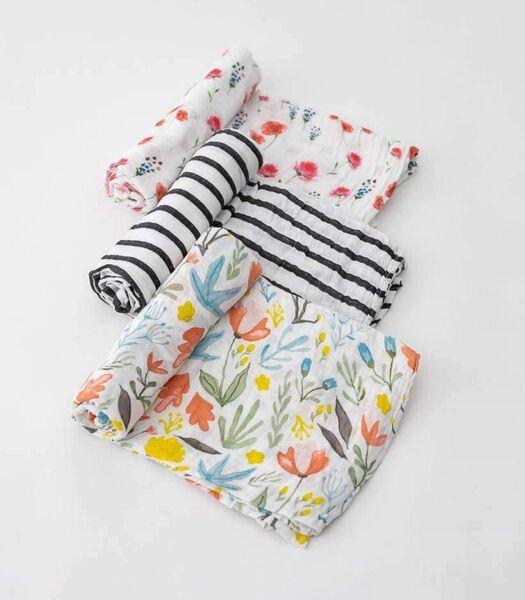 Mousseline coton d'emmaillotage|L (Wild Mums Set)