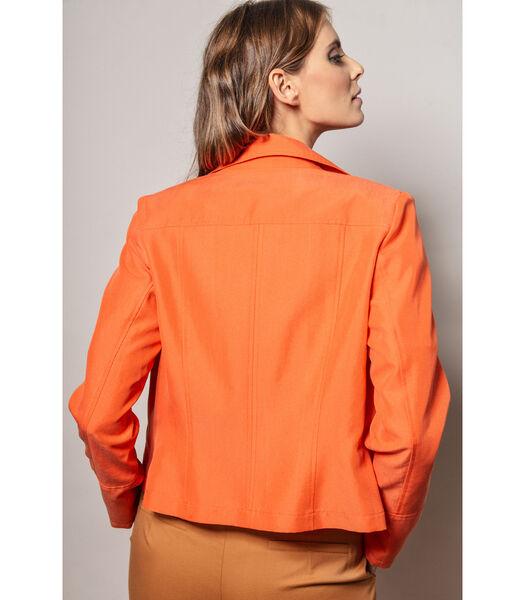 Feloranje jasje in een lichte kwaliteit