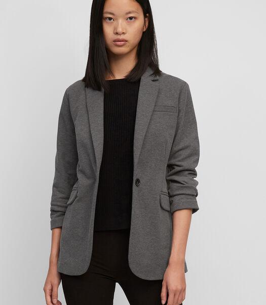 Jersey blazer van lichte, elastische sweatstof