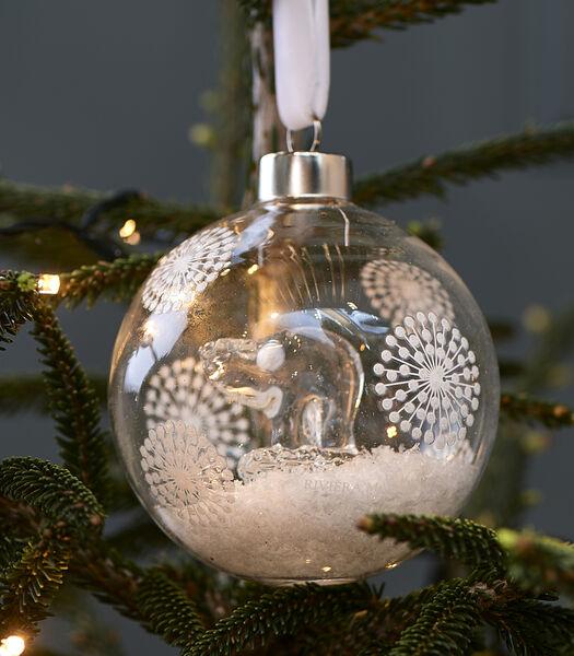 Sweet Polar Bear Ornament Dia 10