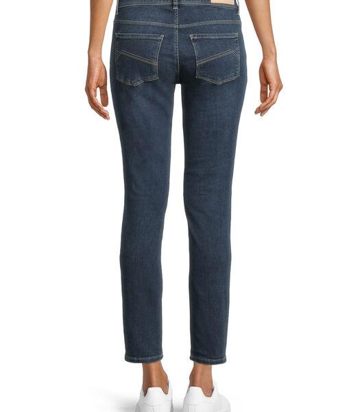 Basic jeans met wassing